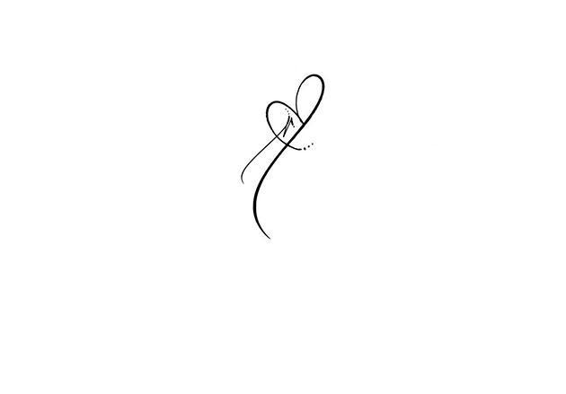 calligraphe invitation paris tatuaje letre r coraz n tatuajes para mujeres. Black Bedroom Furniture Sets. Home Design Ideas