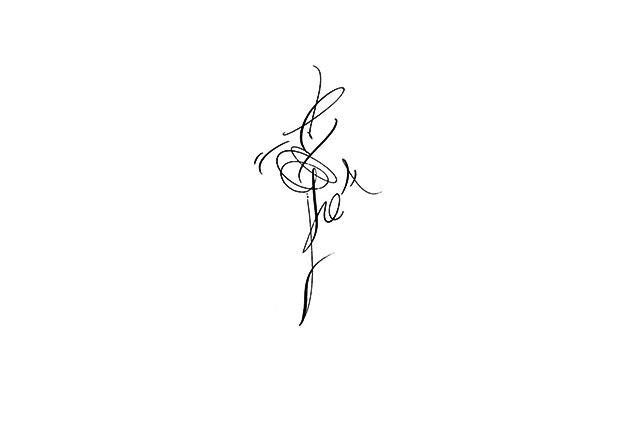 Calligrafia per tatuaggi