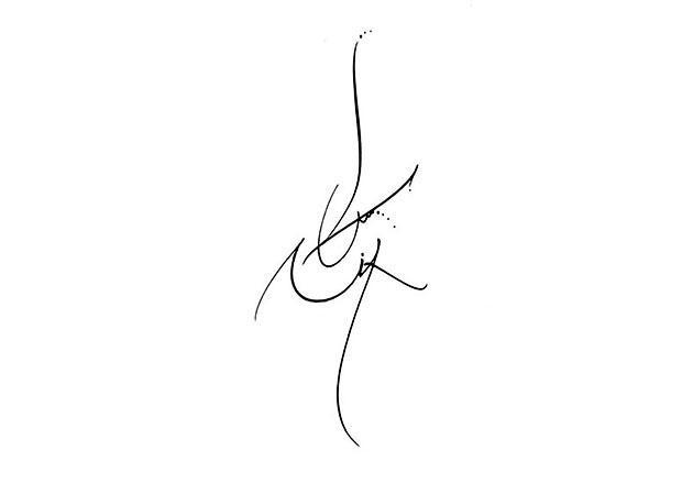 Tatouage Lettre C Calligraphie Adapei