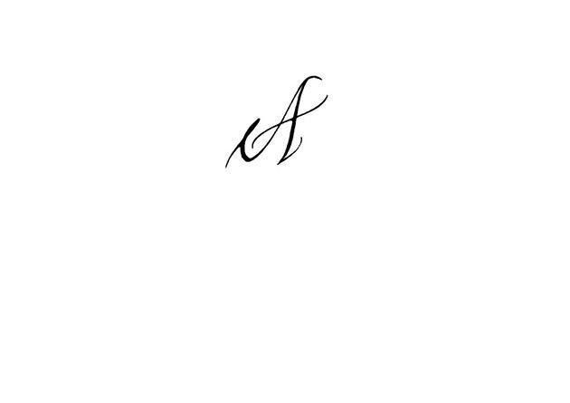 Calligraphe paris calligraphie paris tatouage lettre a - Tatouage lettre a ...