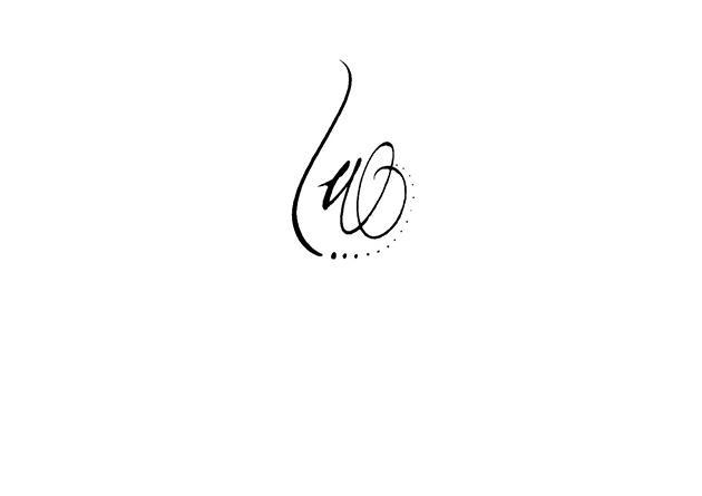 Tatouage Lettre M Calligraphie Pret A Taux Zero