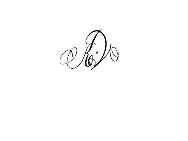 Calligraphe Paris Calligraphie Paris Tatouage Lettres Entrelacees Kv