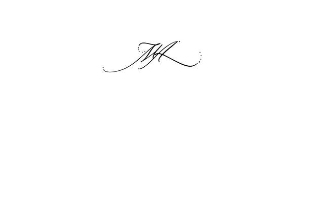 tatouage initiale calligraphie. Black Bedroom Furniture Sets. Home Design Ideas